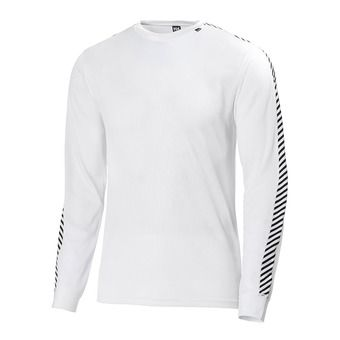 Camiseta térmica hombre LIFA STRIPE white