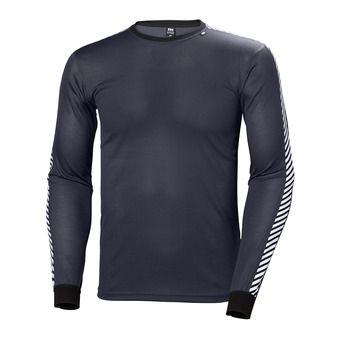 Camiseta térmica hombre LIFA STRIPE graphite blue