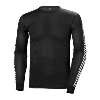 Camiseta hombre LIFA STRIPE black