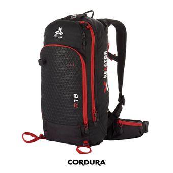 Arva REACTOR V2 18L - Mochila airbag negro/rojo