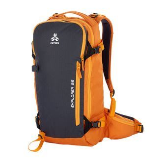 Sac à dos 26L EXPLORER V3 orange/gris