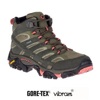 Zapatillas de senderismo mujer MOAB 2 MID GTX beluga/olive