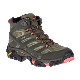 Merrell MOAB 2 MID GTX - Hiking Shoes - Women's - beluga olive