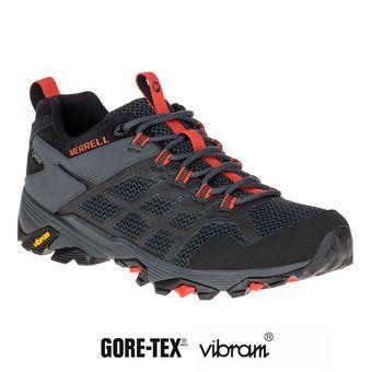 610c13a8bca MERRELL. Chaussures de randonnée homme MOAB FST 2 GTX black granite