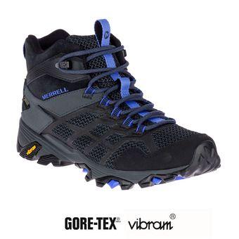 Zapatillas de senderismo mujer MOAB FST 2 MID GTX black/granite