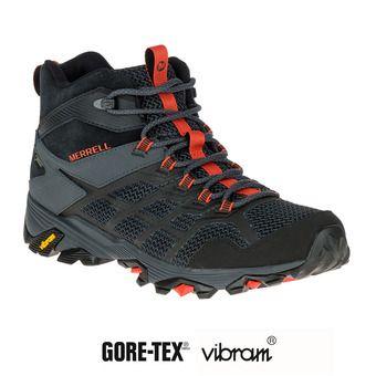 Zapatillas de senderismo hombre MOAB FST 2 MID GTX black/granite