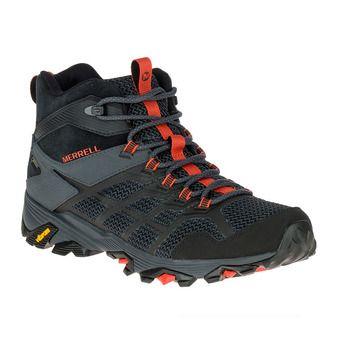 Merrell MOAB FST 2 MID GTX - Chaussures randonnée Homme black granite