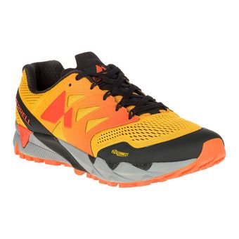 Merrell AGILITY PEAK FLEX 2 E-MESH - Chaussures trail Homme spicy gold