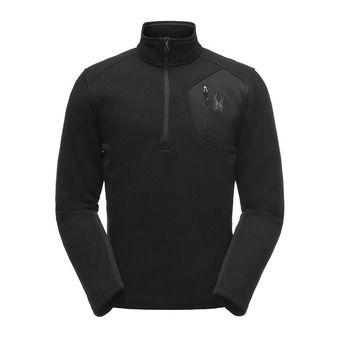 Polaire 1/2 zippée homme BANDIT STRYKE black/black/black