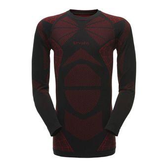 Camiseta térmica hombre CAPTAIN black/red