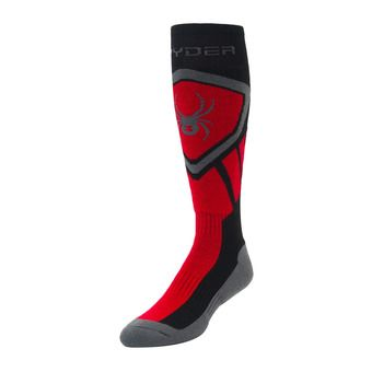 Chaussettes homme DARE black/red/pol