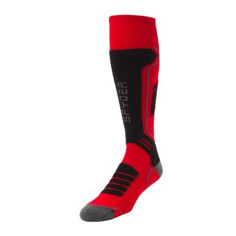 Calcetines hombre VELOCITY red/black/pol