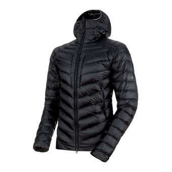 Mammut BROAD PEAK IN - Anorak hombre black/phantom