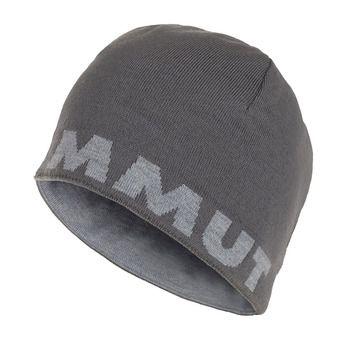 Bonnet réversible MAMMUT LOGO titanium/granit