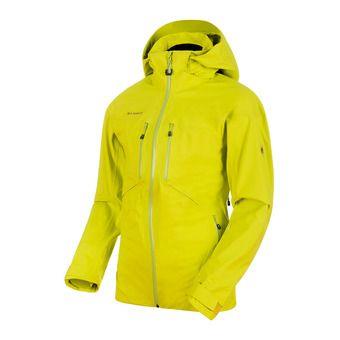 Veste de ski à capuche homme STONEY HS canary