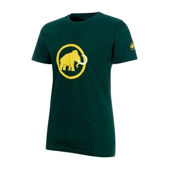 Camiseta hombre MAMMUT LOGO dark teal