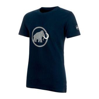 Camiseta hombre MAMMUT LOGO marine/granit
