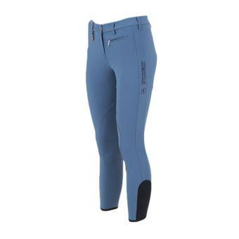 Pantalón mujer PRISCA azul acero
