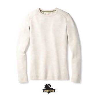 Camiseta térmica mujer MERINO 250 CREW moonbeam heather