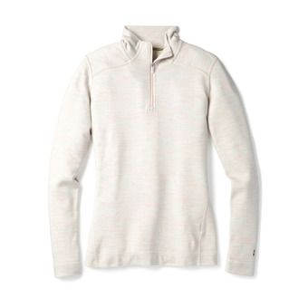 Sous-couche 1/4 zip femme MERINO 250 moonbeam heather