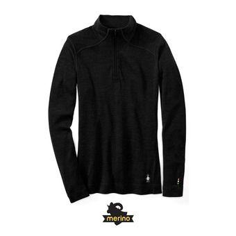 Sweat 1/4 zip femme MERINO 250 black