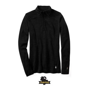Women's Merino 250 Baselayer 1/4 Zip Femme Black