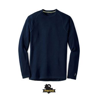 Camiseta térmica hombre MERINO 250 CREW deep navy