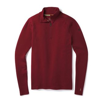 Smartwool MERINO 250 ZIP - Camiseta térmica hombre tibetan red heather