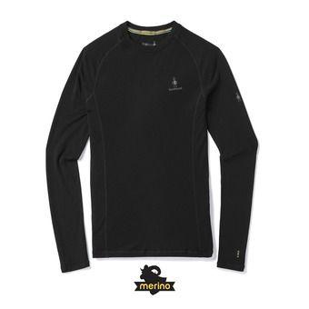 Camiseta térmica hombre MERINO 200 black