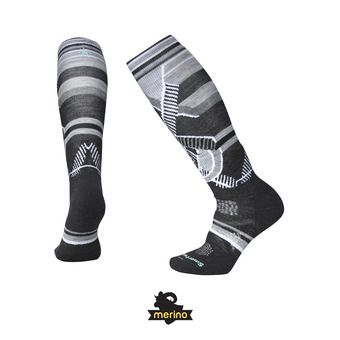 Smartwool PHD SKI MEDIUM PATTERN - Chaussettes Femme charcoal