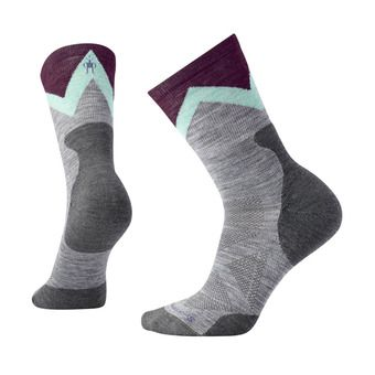 Smartwool PRO APPROACH LIGHT ELITE CREW - Socks - Women's - light gray