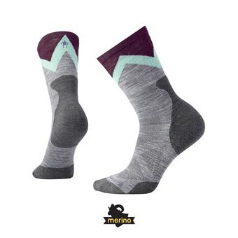 Chaussettes femme PRO APPROACH LIGHT ELITE CREW light gray