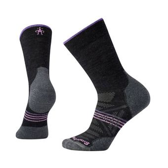 Smartwool PHD OUTDOOR LIGHT CREW - Socks - Women's - charcoal