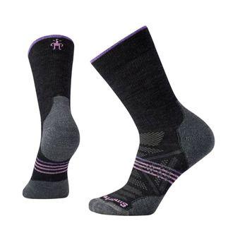 Smartwool PHD OUTDOOR LIGHT CREW - Socks - Women's - charcoal
