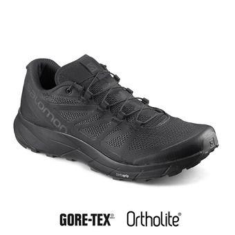 Salomon SENSE RIDE INVISIBLE FIT GTX - Chaussures trail Homme bk/b