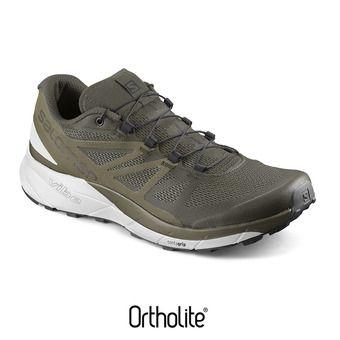 Zapatillas de trail hombre SENSE RIDE gre/wh/martini o