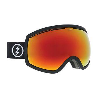 Masque de ski EG2 matte black/brose-red chrome + pink