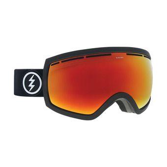 Masque de ski femme EG2.5 matte black/brose-red chrome + pink