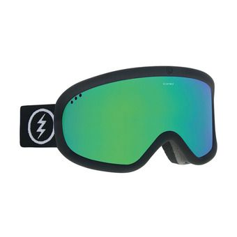 Electric CHARGER - Masque ski matte black/brose green chrome