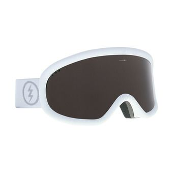 Electric CHARGER - Masque ski Femme matte white/brose