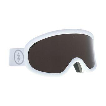Electric CHARGER - Masque ski Femme matte white/brose