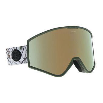 Gafas de esquí KLEVELAND country/brose-gold chrome + brose-light