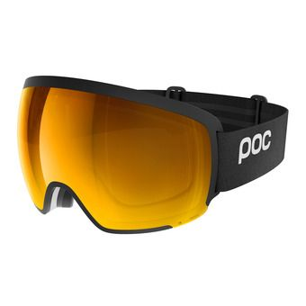 Poc ORB CLARITY - Maschera da sci uranium black/spektris orange