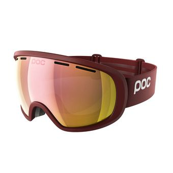 Poc FOVEA CLARITY - Masque ski lactose red/spektris rose gold