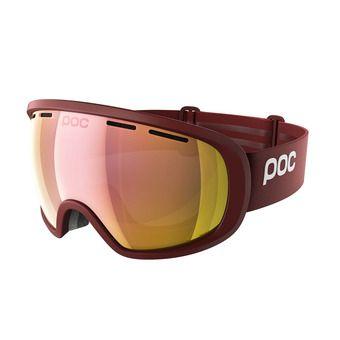 Poc FOVEA CLARITY - Ski Goggles - lactose red/spektris rose gold
