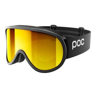 Masque de ski RETINA BIG CLARITY uranium black/spektris orange