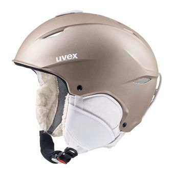 Uvex PRIMO - Casco de esquí prosecco met mat