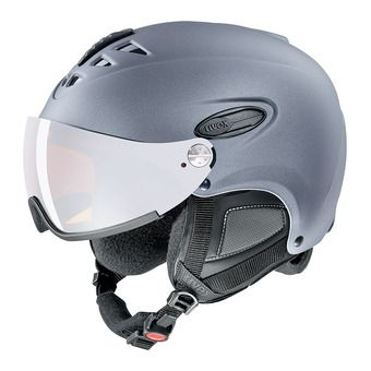 Uvex HLMT 300 VISOR - Casco de esquí strato met mat