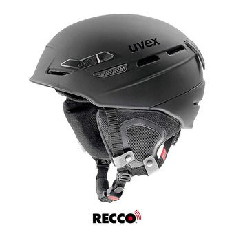 Casque de ski P.8000 TOUR black mat