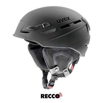 Uvex P.8000 TOUR - Casco de esquí black mat